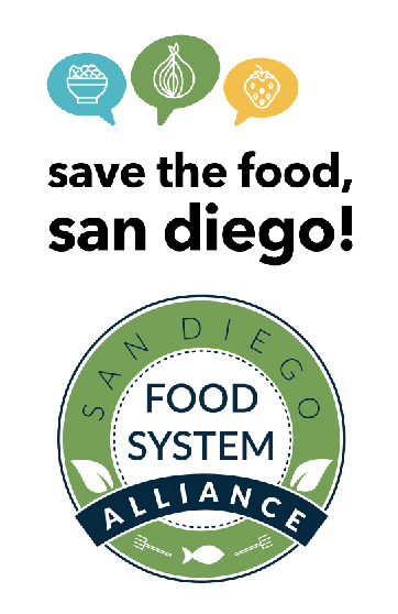 Save the Food San Diego logo